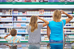Mom Daughter and Son Confused by Dairy Choices