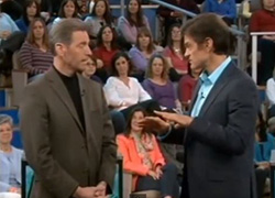 Dr. Oz and Dr. Will Clower On Cancer Fighting Foods