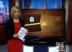 CBS KDKA Pittsburgh Eat Chocolate Lose Weight